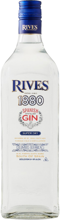 Rives 1880 Spanish Super Dry Gin