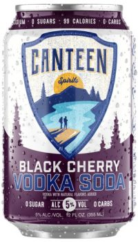 Canteen Spirits Black Cherry Vodka Soda