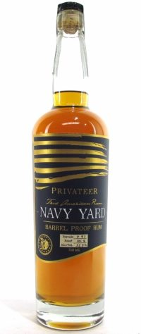 Privateer Navy Yard Barrel Proof Rum