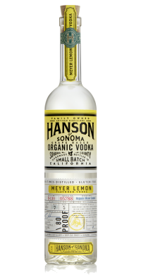 Hanson of Sonoma Organic Meyer Lemon Vodka