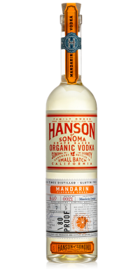 Hanson of Sonoma Organic Mandarin Vodka