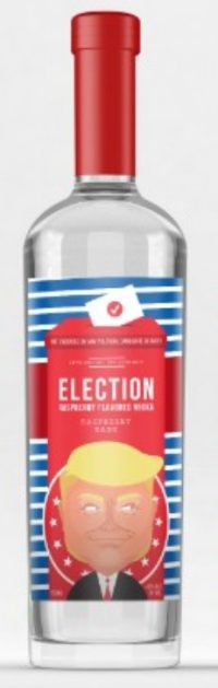 Election Trump Raspberry Vodka 750ml