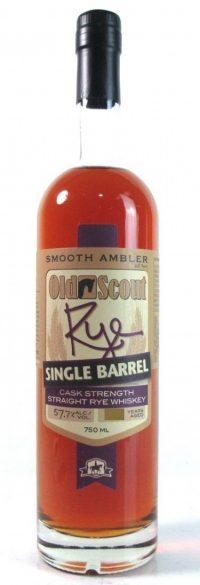 Smooth Ambler Old Scout Single Barrel Cask Strength Rye