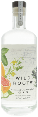 Wild Roots Cucumber & Grapefruit Gin 750ml