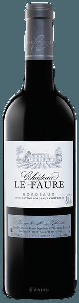Chateau Le faure Bordeaux 2015