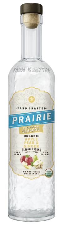 Prairie Organic Sustainable Seasons - Apple, Pear & Ginger - 750ml