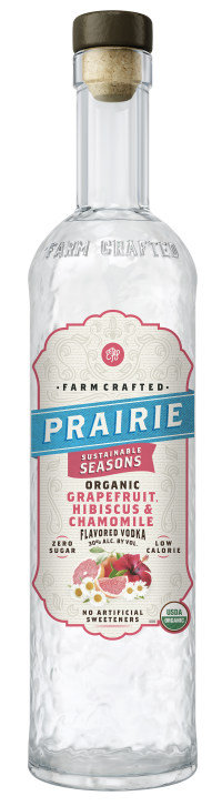 Prairie Organic Sustainable Seasons - Grapefruit, Hibiscus & Chamomile 750ml