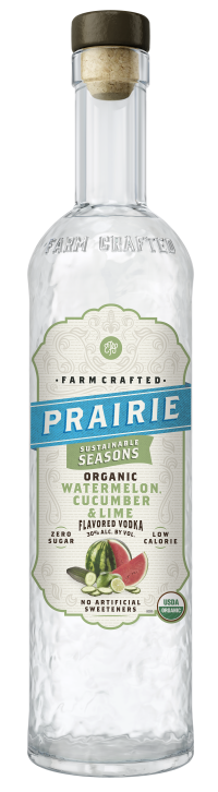 Prairie Organic Sustainable Seasons - Watermelon, Cucumber & Lime - 750ml
