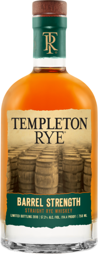 Templeton Barrel Strength Rye