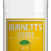 Burnetts Citrus Vodka 750ml
