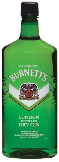 Burnetts London Gin 750ml