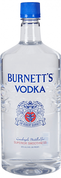 Burnetts Vodka 375ml