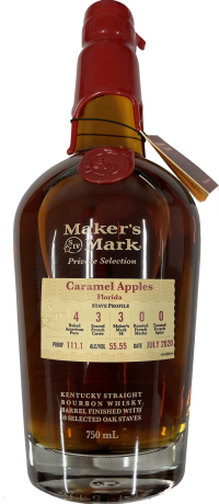 Makers Mark Private Select Caramel Apples 111.1 Proof