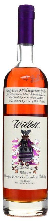 Willett 7yr Family Estate Single Barrel