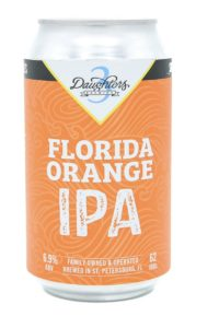 3 Daughters Florida Orange IPA 6pk