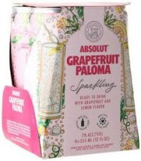 Absolut Sparkling Grapefruit Paloma