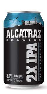 Alcatraz 2X IPA 12oz 4pk Cn