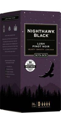 Bota Box Nighthawk Black Lush Pinot Noir