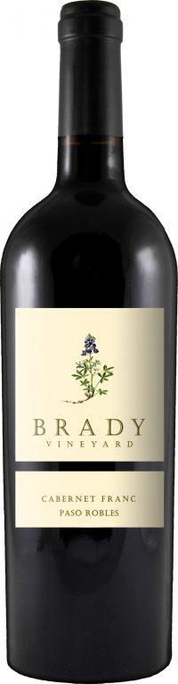Brady Vineyard Paso Robles Cabernet Franc