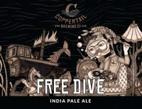 Coppertail Free Dive IPA 16oz 4pk Cn