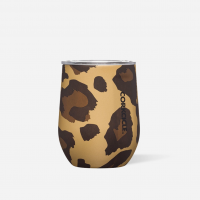 Corkcicle Stemless Luxe Leopard 12oz