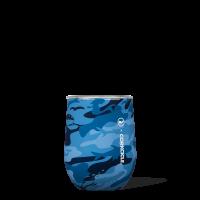Corkcicle Stemless Vineyard Vines Blue Camo 12oz