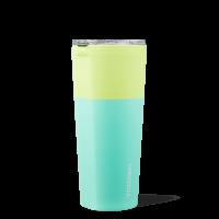 Corkcicle Tumbler Color Block Limeade 24oz