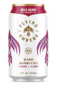 Flying Embers Wild Berry Hard Kombucha