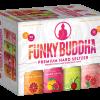 Funky Buddha Hard Seltzer Variety 12oz 12pk Cn