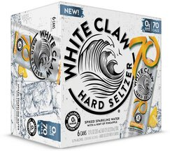 White Claw 70 Cal Pineapple