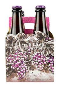 .Wicked Weed La Bonte Rose 12oz 4pk Btl