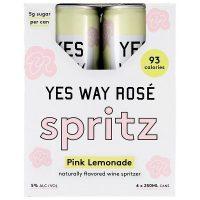 Yes Way Rose Spritz Pink Lemonade 4pk 250ml