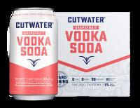 Cutwater Grapefruit Vodka Soda 12oz 4pk Cn