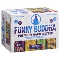 Funky Buddha Hard Seltzer Tropical Variety 12oz 12pk Cn