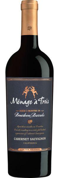 Menage A Trois Cabernet Bourbon Barrels 750ml