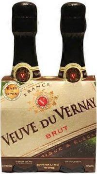 Veuve du Vernay Brut 187ml 2pk