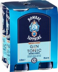 Bombay Sapphire Cocktail Gin & Tonic 4pk