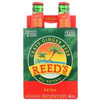 Reed's Ginger Beer Extra 12oz 4pk Cn