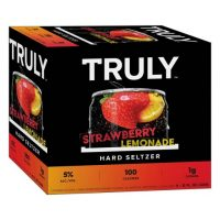 Truly Strawberry Lemonade Seltzer 12oz 6pk Cn