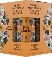 Two Chicks Whiskey Spicy Ginger & Orange Cocktail