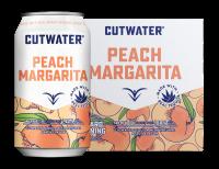Cutwater Peach Margarita 12oz 4pk Cn