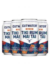 Cutwater Tiki Rum Mai Tai 12oz 4pk Cn