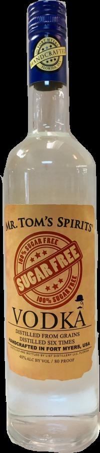 Mr Toms Spirits Vodka