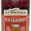 Stirrings Old Fashioned Cocktail Mix 750ml